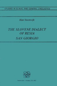 The slovene dialect of Resia - San Giorgio