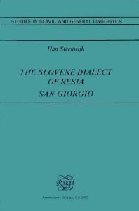 The slovene dialect of Resia - San Giorgio