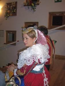 particolare del costume arbereshe