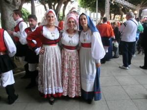 Cagliari 1 maggio 2013 - costumi sardi