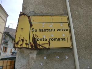 Mamoiada - toponomastica bilingue